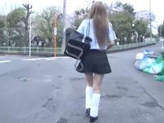 『いっ…いくっ…またイクぅぅーっ』ルーズソックスなヤンキー少女を何度もイカせて萌え声でアヘらせまくって中出し