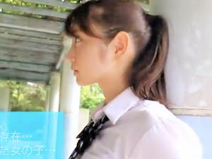 めちゃくちゃ可愛いポニテなハーフ系女子高生をはずかしめ制服着せたまま欲望の限り犯しまくってボイン射&お掃除フェラ