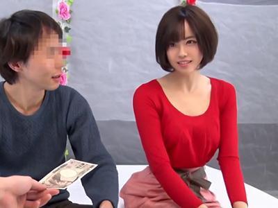 【熟女ナンパ】バレー教室に通うモデル体型の美人妻『まずいけど…でも』情熱的なKISSを何度もされ発情しNTRセックスw