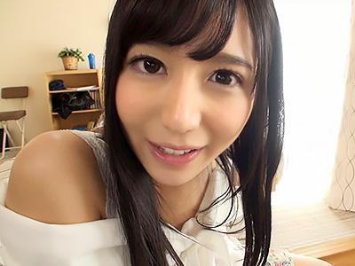 『ふたりきりだね♡♡』黒髪ロングスレンダー美少女の彼女とイチャイチャから、ラブ生ハメセックス!!
