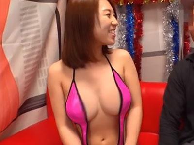 【八乃つばさ×凄テク】ムチムチ巨乳のお姉さんが逆ナンパした男性といきなり凄テク勝負!!