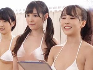 「最後にみんなでエッチします♡♡」業界代表クラスの女優達との感謝祭で、ラストは乱交SEXww
