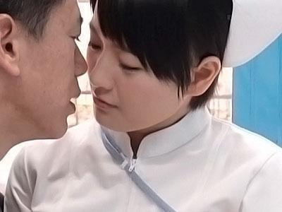 『これは治療です♡♡』男性のお悩み相談からエッチしちゃう清楚なナース!!