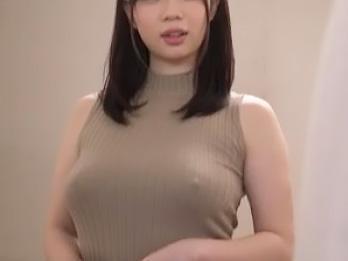 『おっぱい、でけえぇぇww』兄嫁が美巨乳に張り付くニットで、ポッチリ浮き出た乳首がエロ過ぎて無理やり迫る!!
