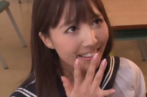 【三上悠亜】すっごく興奮してエッチしちゃったね~♡放課後の教室で学園のアイドルを独占して過激な交際しちゃいます!