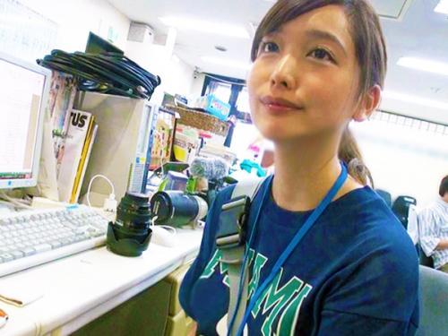 <SOD女子社員>「マジメな彼女を出演させたい!!」史上No.1の美人カメラマンな新人スタッフをハメ撮りw<AV処女作>