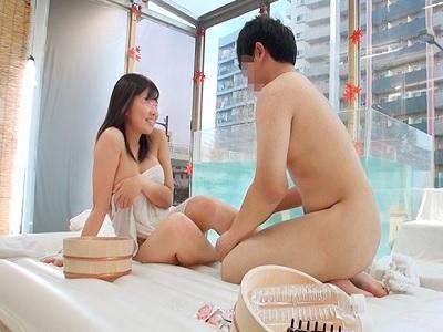ザ・マジックミラー 顔出し!女子大生限定 友達同士2人っきりで初めての混浴温泉 じわじわ湧き出る性欲