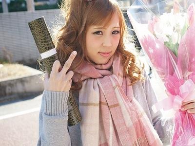 金髪ギャルJKヤンキーちゃん 卒業式終わってソッコーAV出演