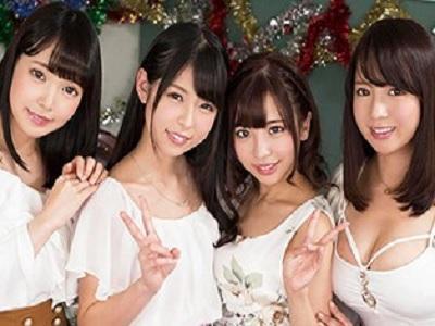 校内でも最強と呼び声の高かった4人の最強美女たちが全員集合!