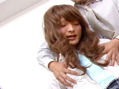 気持ち良いこと大好き!!私は高山ミナミ 一端の女装美少年です!美少年女装子 高山みなみ 制服NHJK!