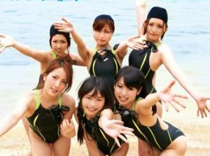 女子校生水泳部のハレンチ夏合宿!!ヤリたい放題イタズラw